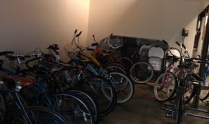 Bikes Parked at One of Our Tenants