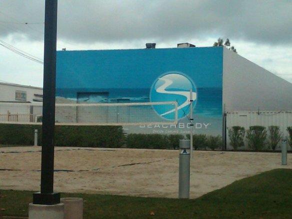 Beach Volleyball Court at Lantana, Santa Monica