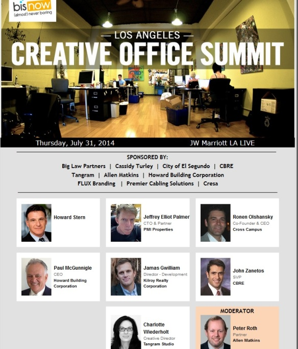 bisnow creative office summit