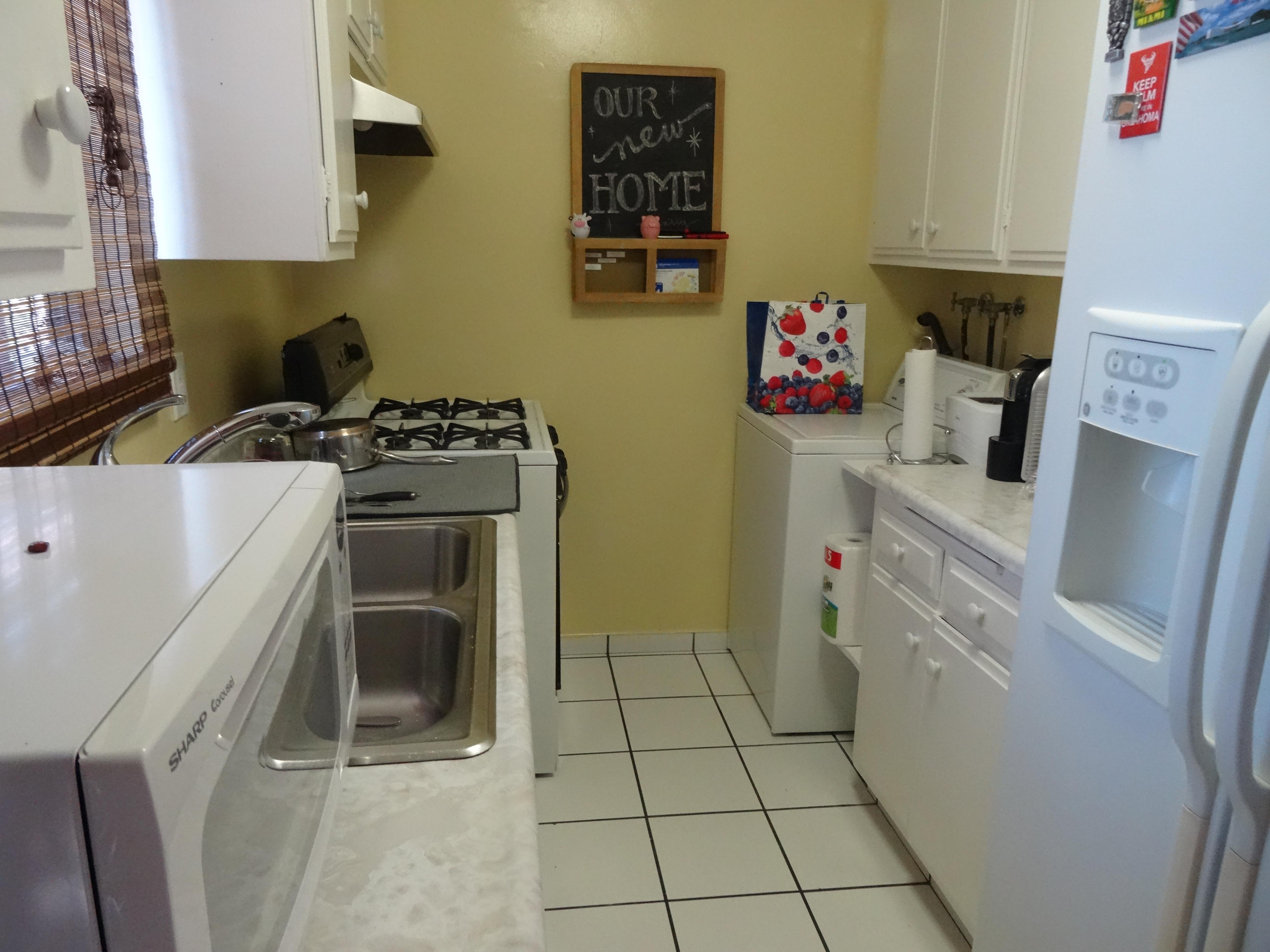 1960 galley kitchen