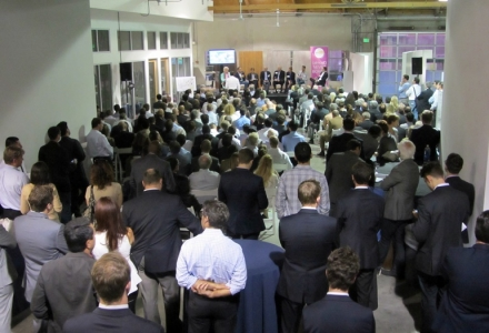 Over 350 attended our first afternoon event in LA at PMI Properties' Eastham Station, 3525 Eastham Dr in the Hayden Tract in Culver City.