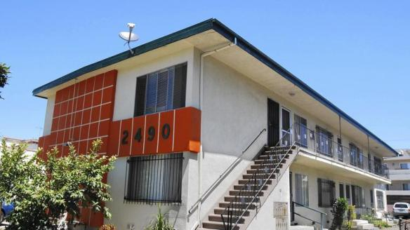 Each year, the Los Angeles housing department discovers 600 to 700 unapproved apartments. Above, this building on South Corinth Avenue was found to have bootleg apartments in 2008. It's now under different management. (Gary Friedman, Los Angeles Times