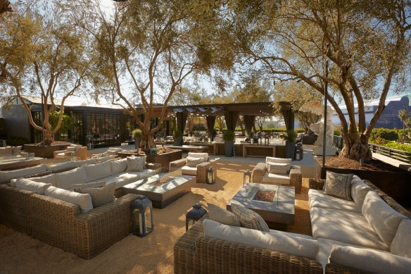 Restoration Hardware Rooftop Public Park in West Hollywood
